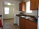 Property Image 3853Galley Kitchen with Dining Room
